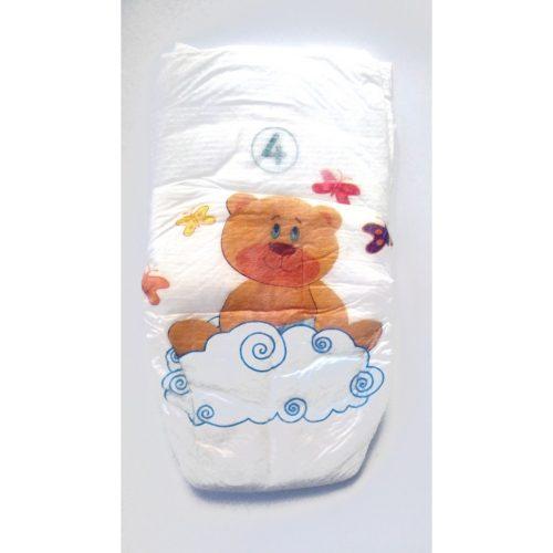 BAMBO pelene za bebe 4 Maxi 7-18kg - 60 kom