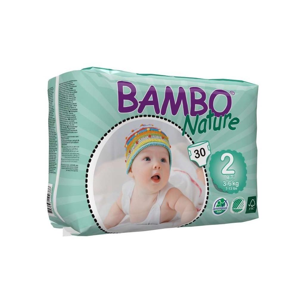 BAMBO Nature pelene za bebe mala pakovanja
