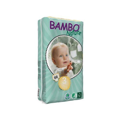 BAMBO pelene za bebe 3 Midi 5-9kg - 66 kom