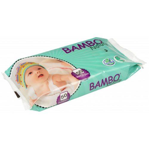BAMBO eko vlažne maramice za bebe 50 kom