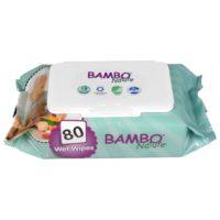 BAMBO eko vlažne maramice za bebe 80 kom
