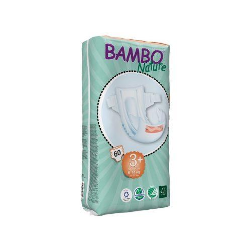 BAMBO pelene za bebe 3+ Midi+ 6-14kg - 54 kom