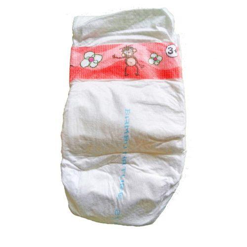 BAMBO pelene za bebe 3+ Midi+ 6-14kg - 60 kom