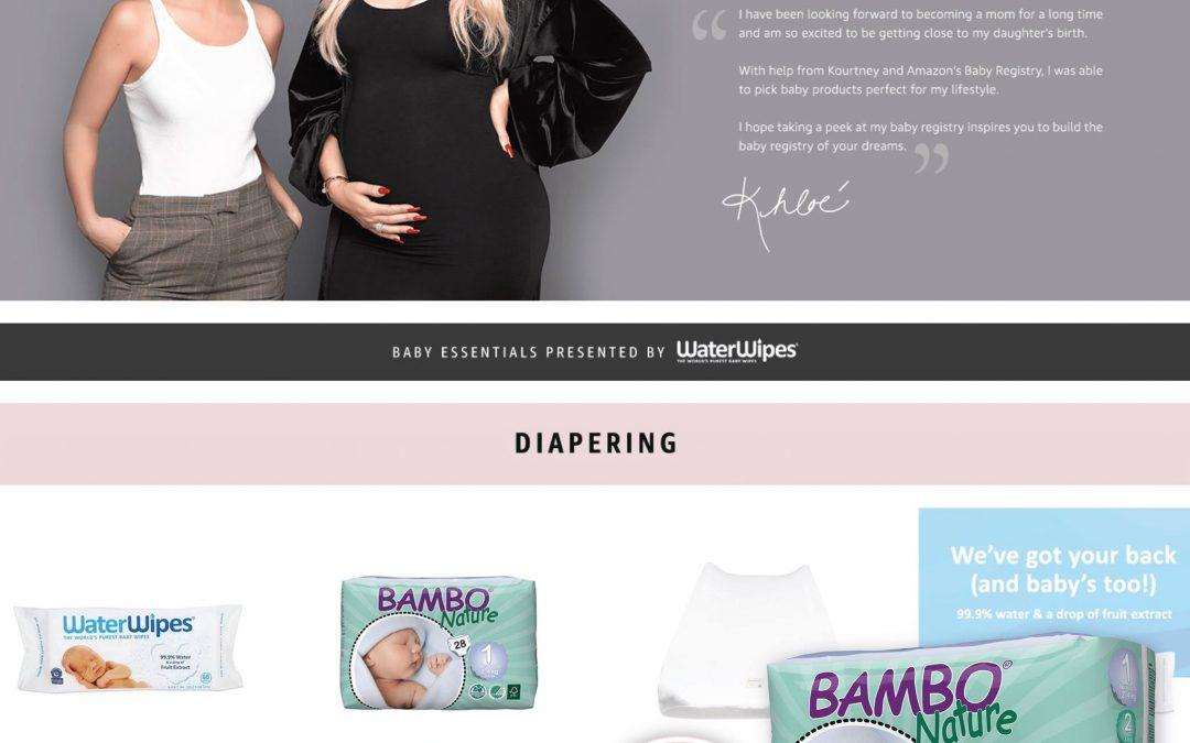 Khloe Kardashian izabrala Bambo pelene za svoju bebu