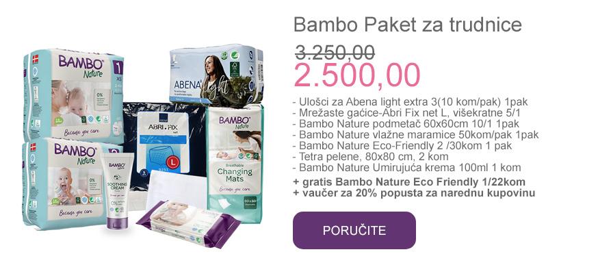 poručite bambo paket za trudnice i porodilje