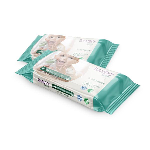 biorazgradive vlazne maramice za bebe